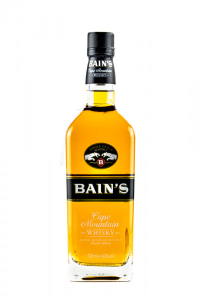 Bains Cape Mountain Single Grain Whisky - 0,7L 40% vol