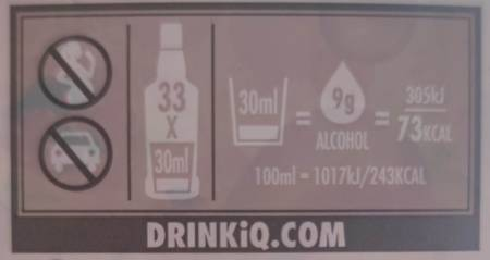 Brennwert Godron Pink Gin