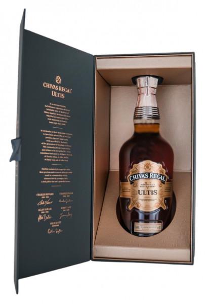 Chivas Regal Ultis Blended Scotch Whisky - 0,7L 40% vol