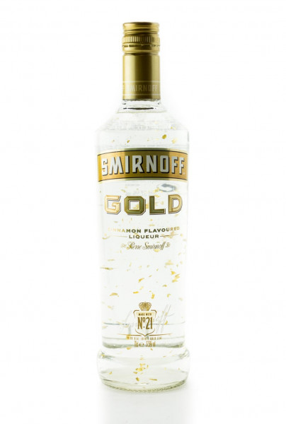 Smirnoff Gold Collection Cinnamon Flavoured Liqueur - 0,7L 37,5% vol