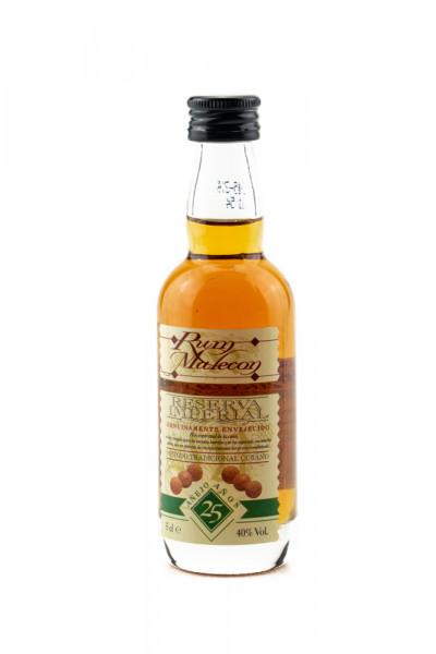 Rum Malecon Reserva Superior Anejo 25 Jahre - 0,05L 40% vol