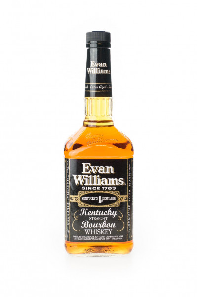 Evan Williams Whiskey Black Label - 1 Liter 43% vol