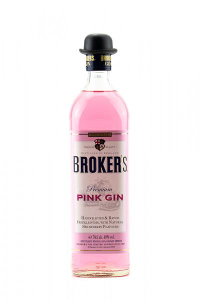Brokers Pink London Dry Gin - 0,7L 40% vol
