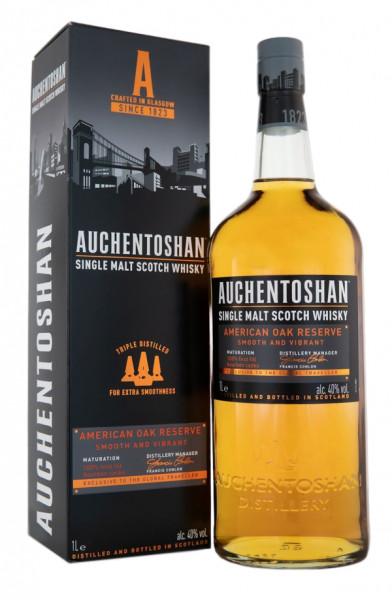 Auchentoshan American Oak Single Malt Scotch Whisky - 1 Liter 40% vol