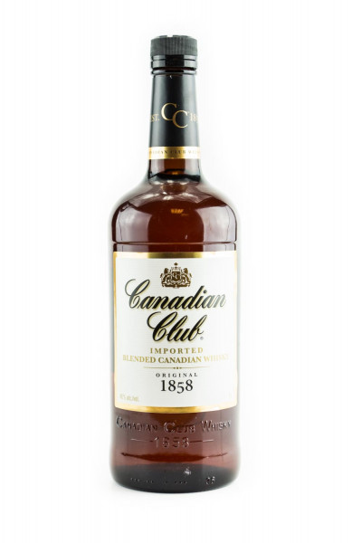 Canadian Club Blended Canadian Whisky - 1 Liter 40% vol