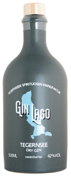 Gin Lago Tegernsee Dry Gin - 0,5L 42% vol