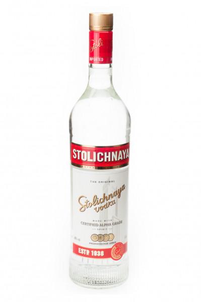 Stolichnaya Vodka - 1 Liter 40% vol