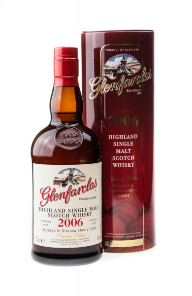 Glenfarclas Vintage 2006 Highland Single Malt Whisky - 0,7L 46% vol