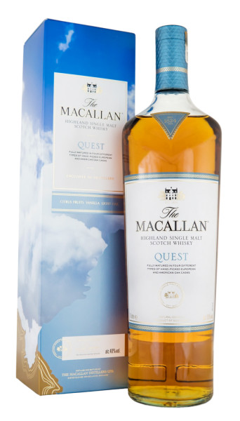 Macallan Quest Single Malt Scotch Whisky - 1 Liter 40% vol