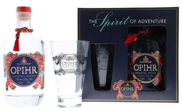 Opihr Gin GEPA mit Glas - 0,7L 42,5% vol