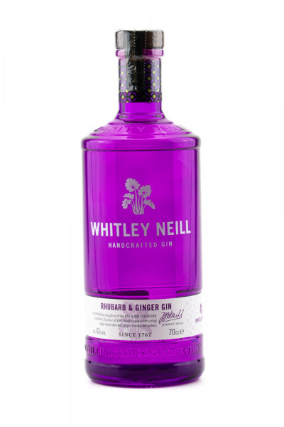 Whitley Neill Rhubarb & Ginger Dry Gin - 0,7L 43% vol