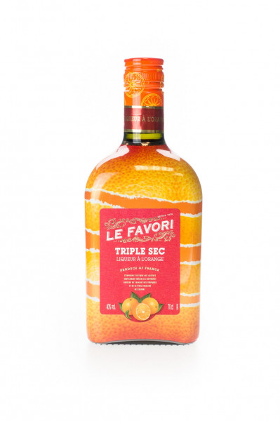 Le Favori Triple Sec Liqueur a lOrange - 0,7L 40% vol