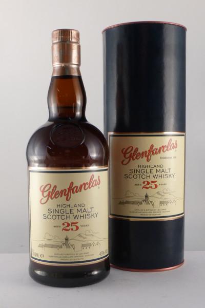 Glenfarclas 25 Years Old, Speyside Single Malt - 43% vol - (0,7L)