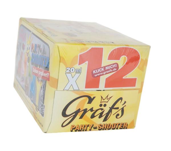 Paket [12 x 0,02L] Gräfs Party-Shooter Sweety - 0,24L 15% vol