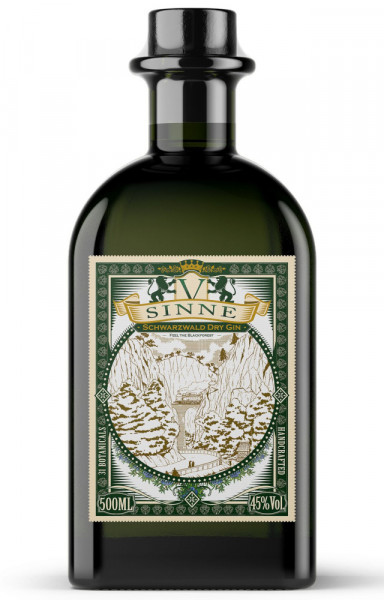V-SINNE Schwarzwald Dry Gin - 0,5L 45% vol