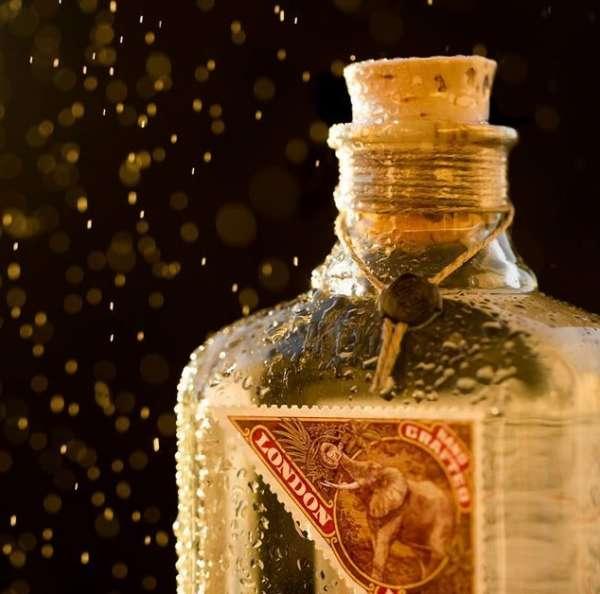 Conalco-Elephant-Gin-Flasche