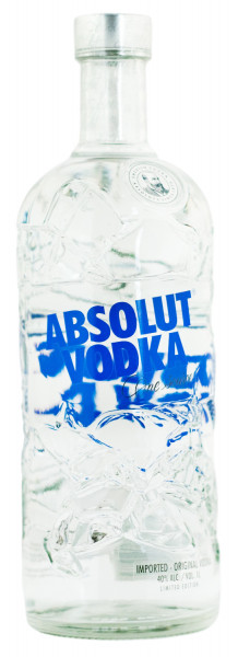 Absolut Vodka Recycled Limited Edition - 1 Liter 40% vol