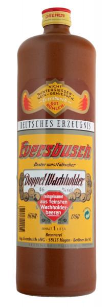 Eversbusch Doppel-Wachholder - 1 Liter 46% vol