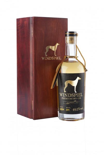 Windspiel Premium Dry Gin Reserve - 0,5L 49,3% vol