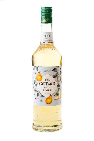 Giffard Birne Sirup Poire - 1 Liter