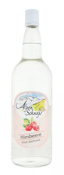 Alpenschnaps Steinbeisser Himbeeraroma - 1 Liter 35% vol