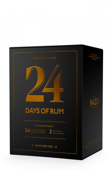 24 Days of Rum 2021 Adventskalender - 0,48L 43% vol