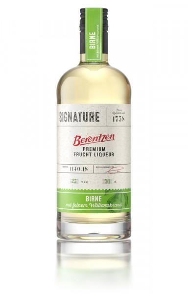 Berentzen Signature Birne Premium Frucht Liqueur - 0,7L 25% vol