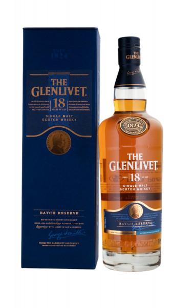 The Glenlivet 18 Jahre Single Malt Scotch Whisky - 0,7L 40% vol