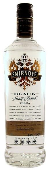 Smirnoff Black Label Vodka - 0,5L 40% vol