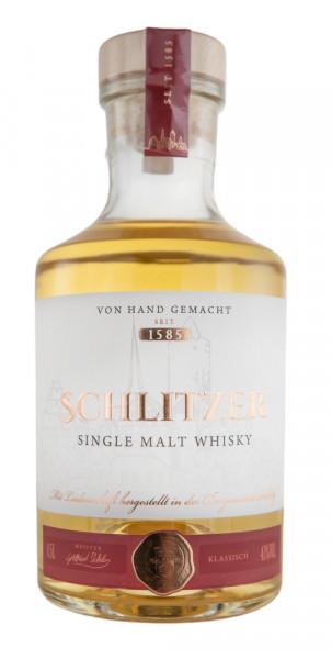 Schlitzer Slitisian Single Malt Classic Whisky - 0,5L 43% vol
