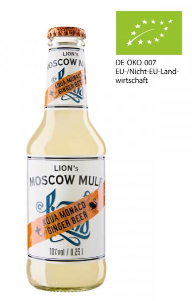 Lions Moscow Mule Bottled Longdrink - 0,25L 10% vol