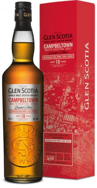 Glen Scotia 10 Jahre Malts Festival Edition 2021 - 0,7L 56,1% vol