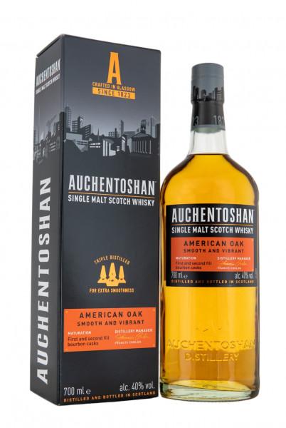 Auchentoshan American Oak Single Malt Scotch Whisky - 0,7L 40% vol