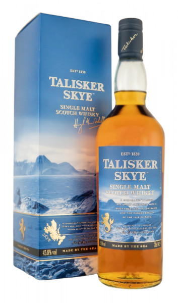 Talisker Skye Single Malt Scotch Whisky + Whisky-Steine - 0,7L 45,8% vol