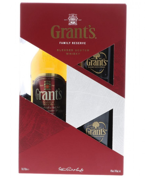 Grants GEPA mit 2 Gläsern - 0,7L 40% vol