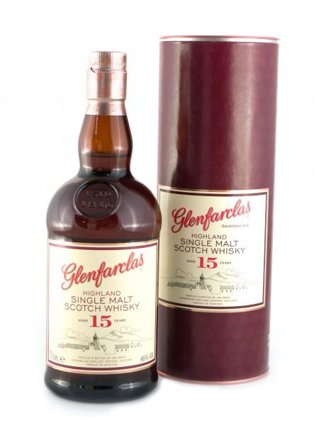 Glenfarclas 15 YO, Speyside Malt Scotch Whisky - 46% vol - (0,7L)