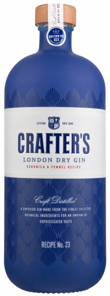 Crafter's London Dry Gin - 0,7L 43% vol