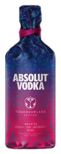 Absolut Vodka Tomorrowland Edition 2019 - 0,7L 40% vol