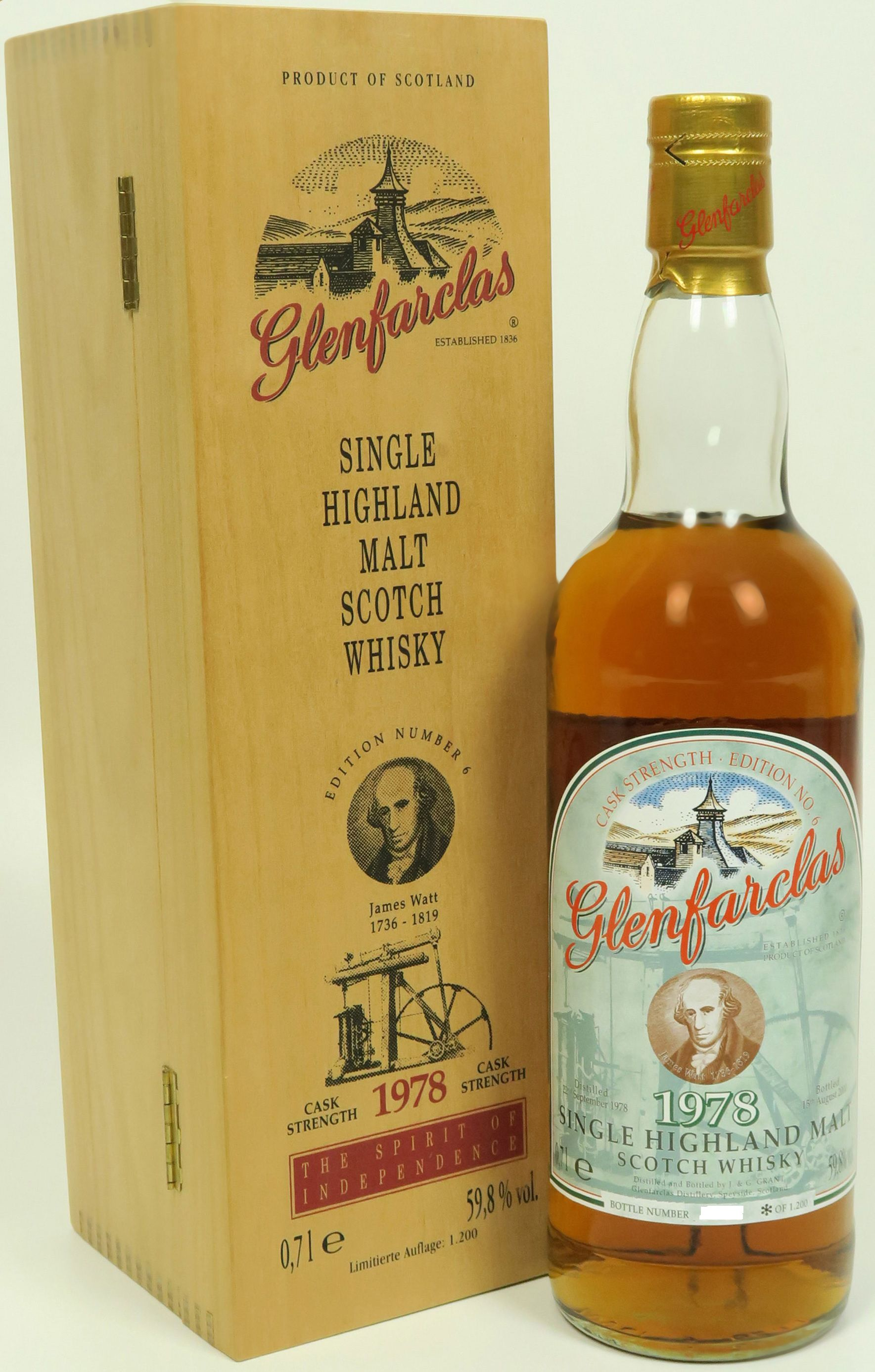 Glenfarclas Edition No. 6 James Watt