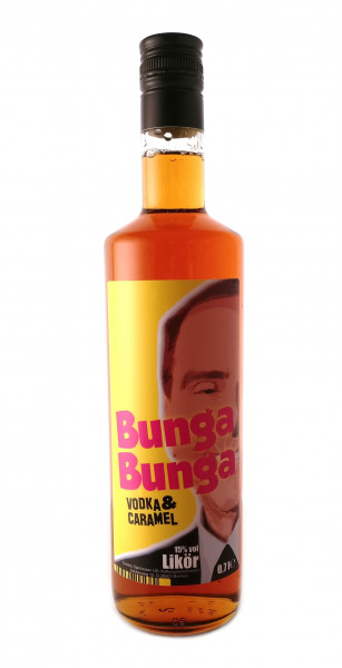 Vodka Caramel by Bunga Bunga - 0,7L 15% vol