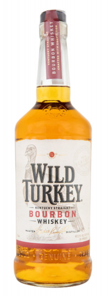 Wild Turkey 81 Proof Kentucky Straight Bourbon Whiskey - 0,7L 40,5% vol