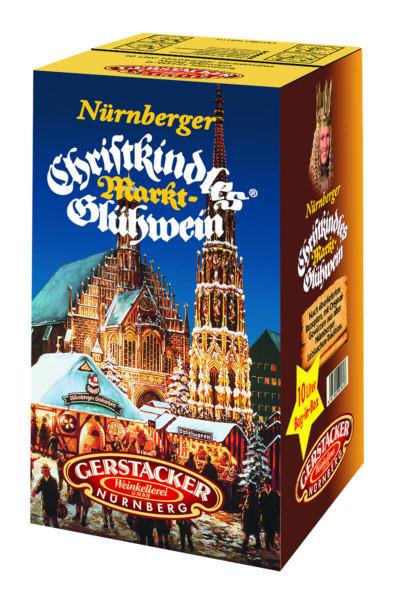 Gerstacker Nürnberger Christkindles Markt-Glühwein - 10L 10% vol