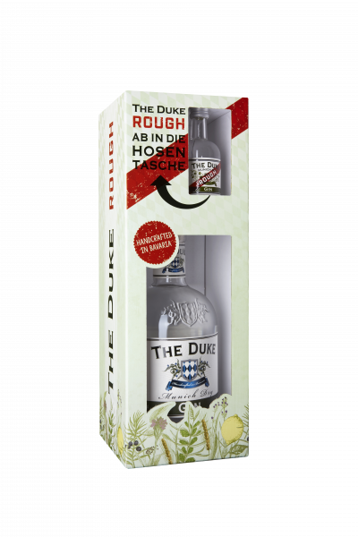 The Duke Gin Onpack + Rough Miniatur BIO - 0,75L 45% vol