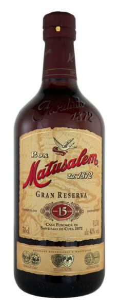 Matusalem Rum 15 Jahre Gran Reserva - 0,7L 40% vol