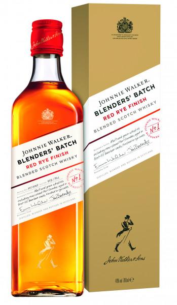 Johnnie Walker Red Rye Finish Blenders Batch - 0,7L 40% vol