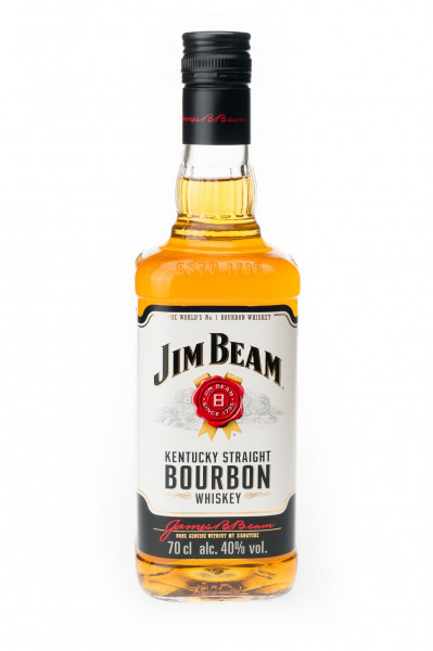 Jim Beam Kentucky Straight Bourbon Whiskey - 0,7L 40% vol