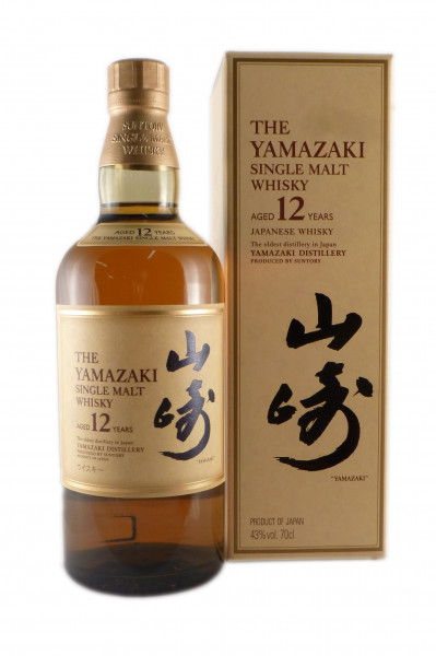 Suntory Yamazaki 12 Years Old, Pure Malt Whisky - 43% vol - (0,7L)