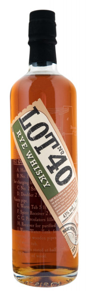 LOT 40 Canadian Rye Whisky - 0,7L 43% vol