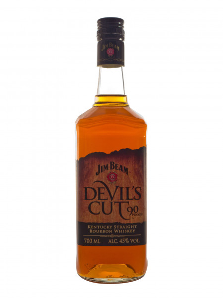 Jim Beam Devils Cut, Bourbon Whiskey - 45% vol - (0,7L)