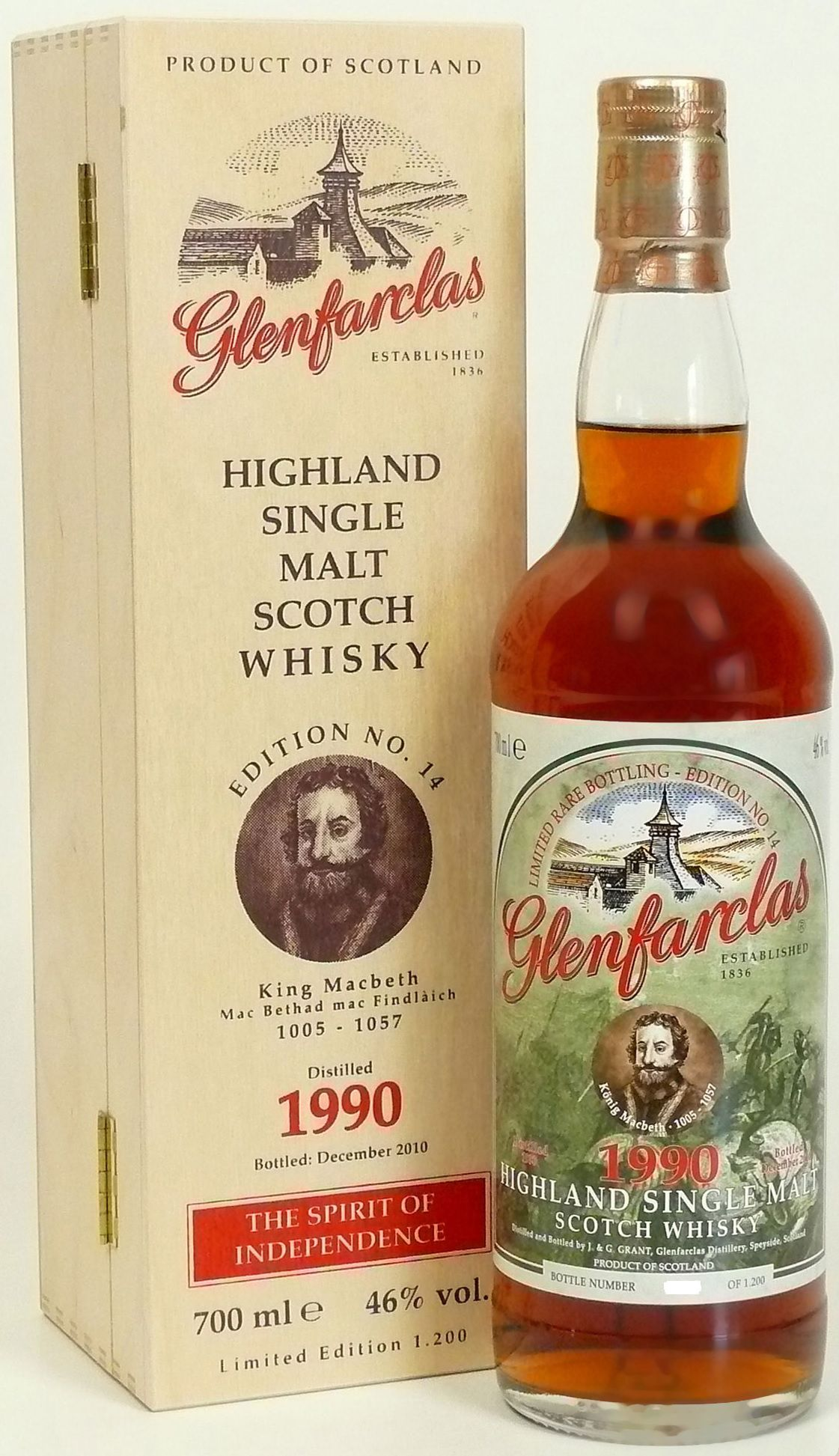 Glenfarclas Edition No. 14 King Macbeth Mac Bethad mac Findlàich